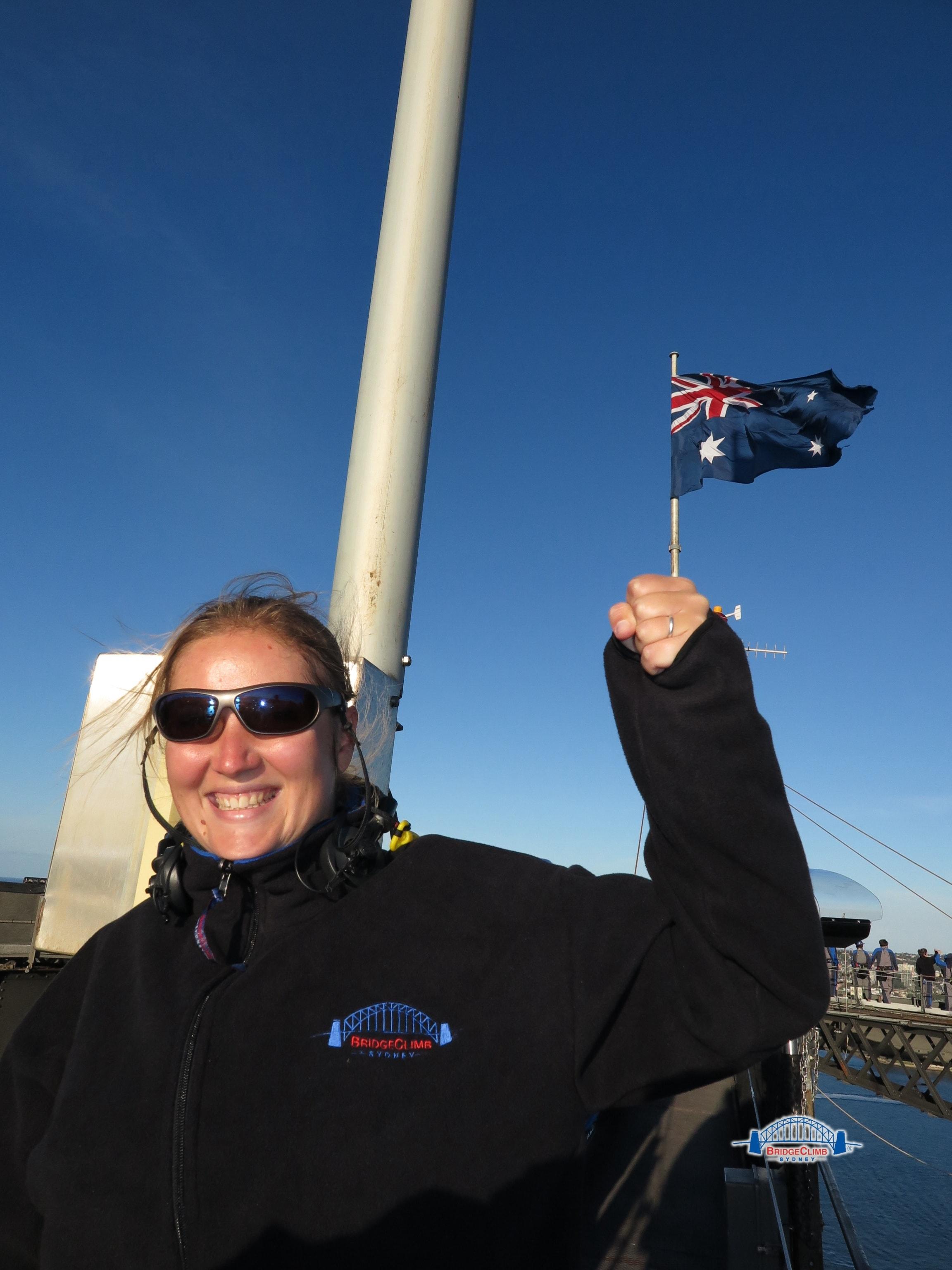 Elo drapeau Sydney Australie-min