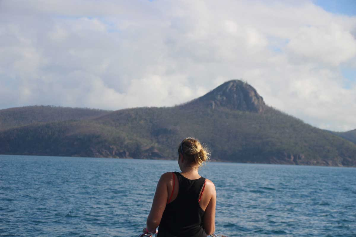 Elo navigation bateau Whitsundays Australie
