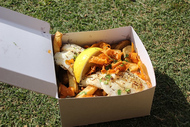Fish and Chips Byron Bay Australie