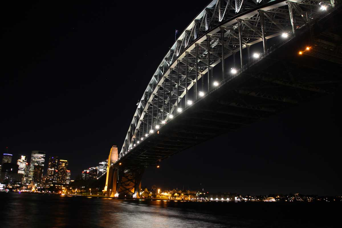 Harbour Bridge de nuit