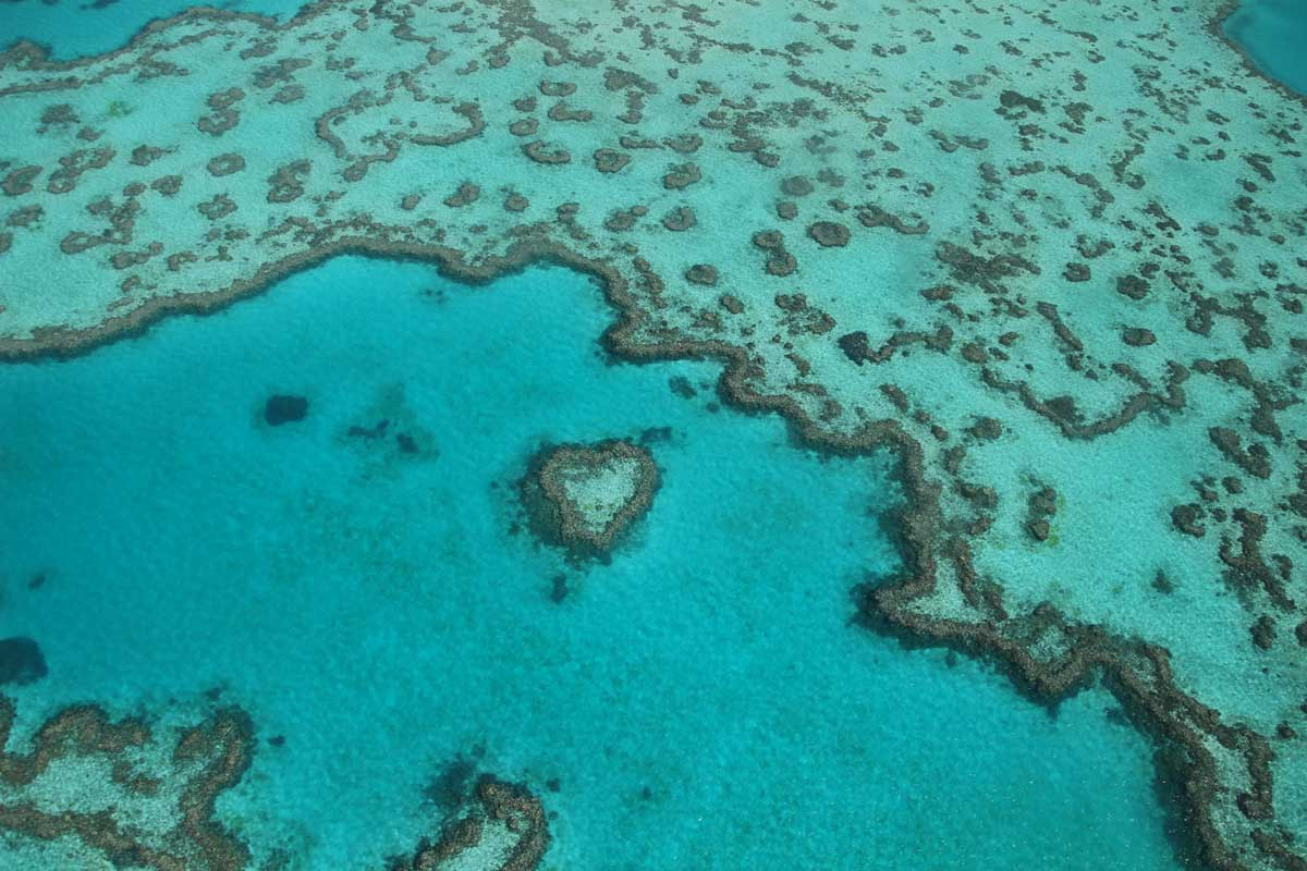 Heart Island Whitsundays Australie
