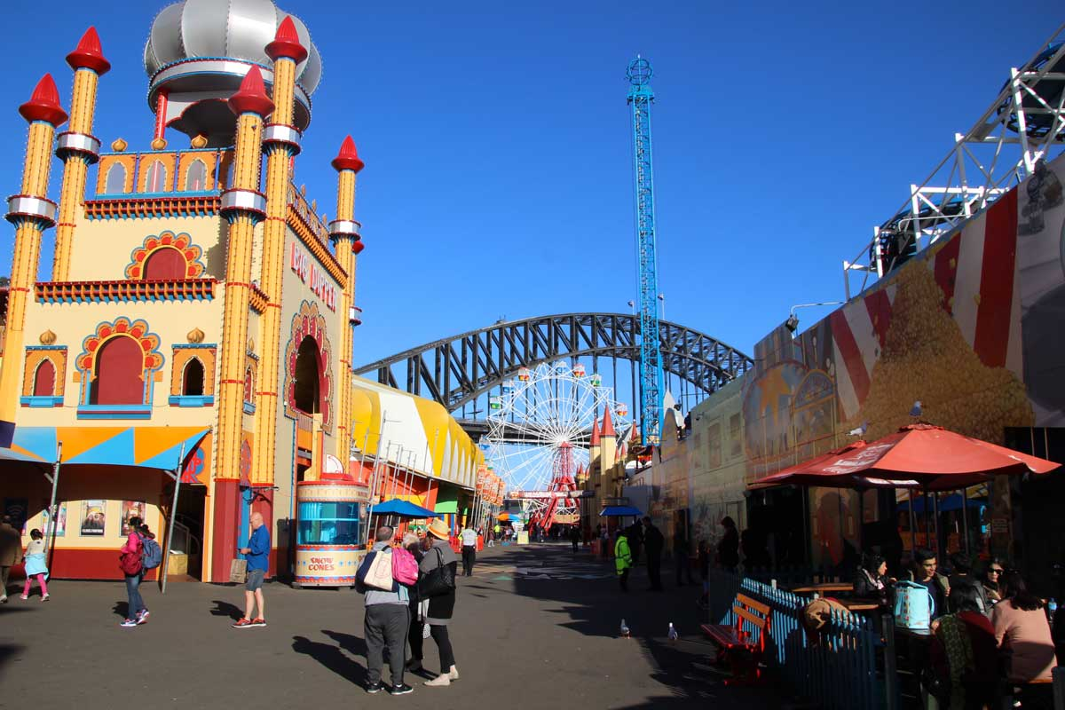 Interieur Luna Park Sydney Australie