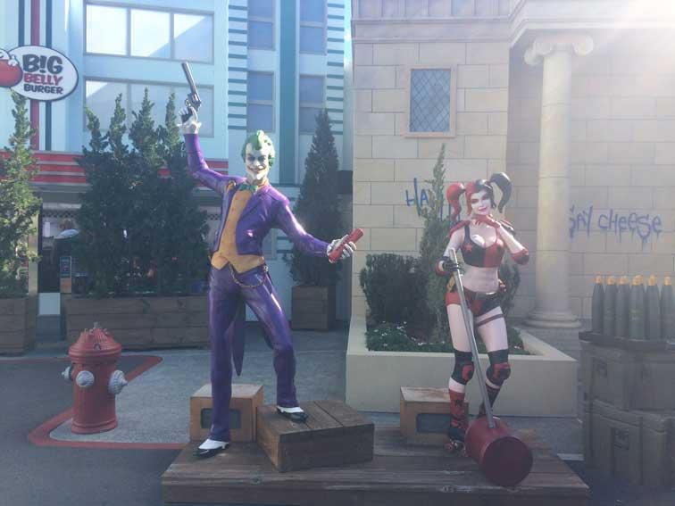 Joker univers Movie World Gold Coast