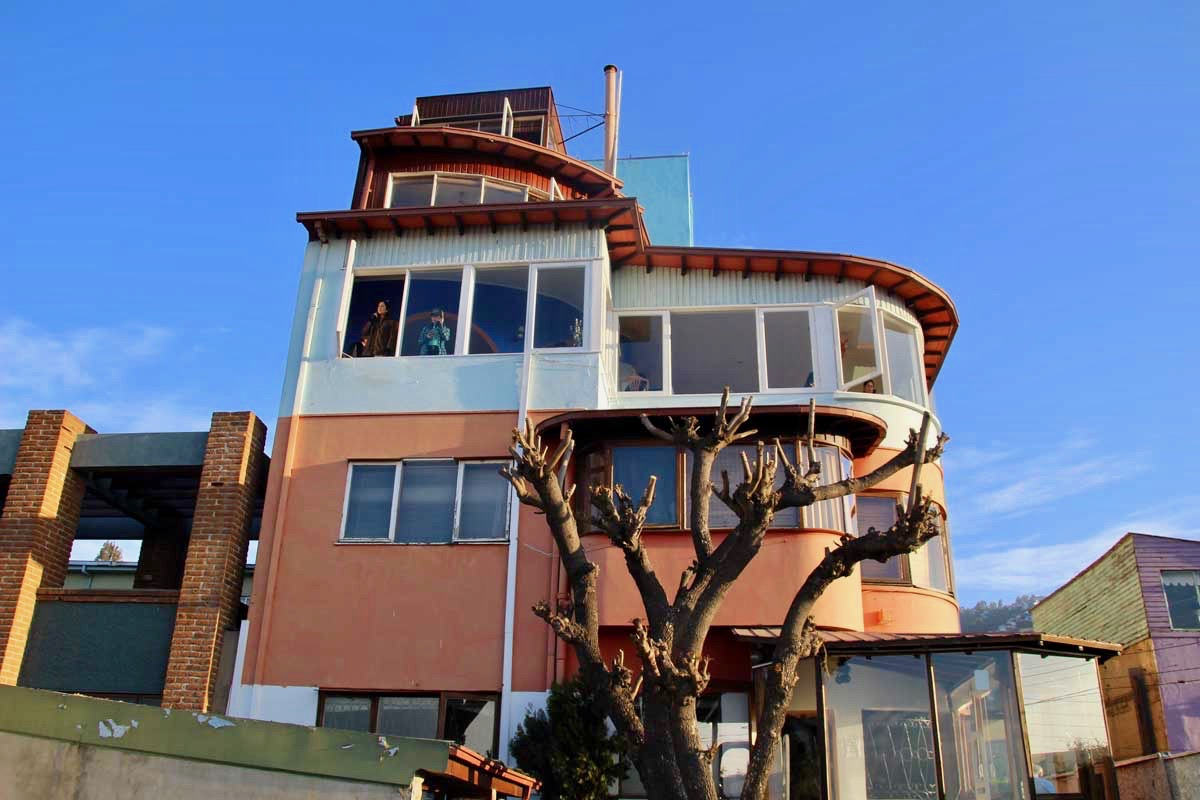 Maison Neruda Valparaiso Chili