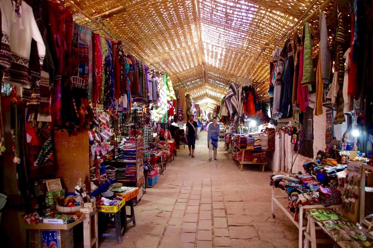 Marche artisanal San Pedro de Atacama Chili