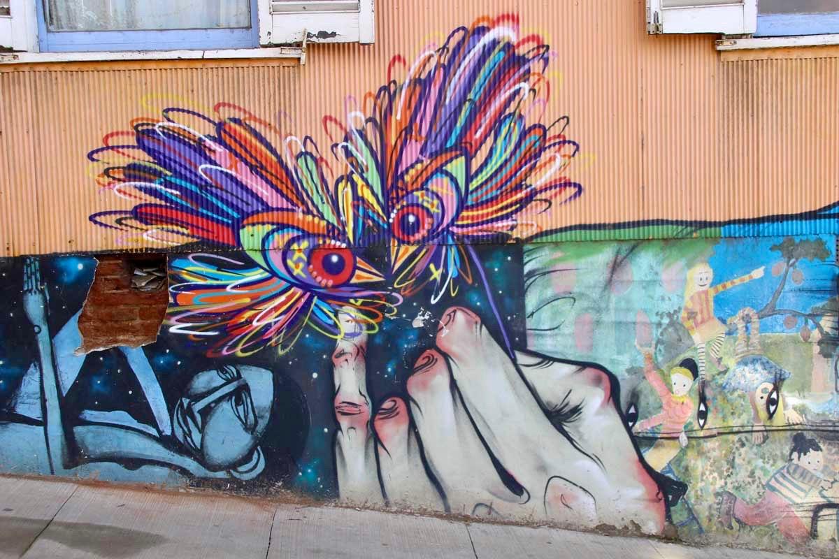 Mouche street art
