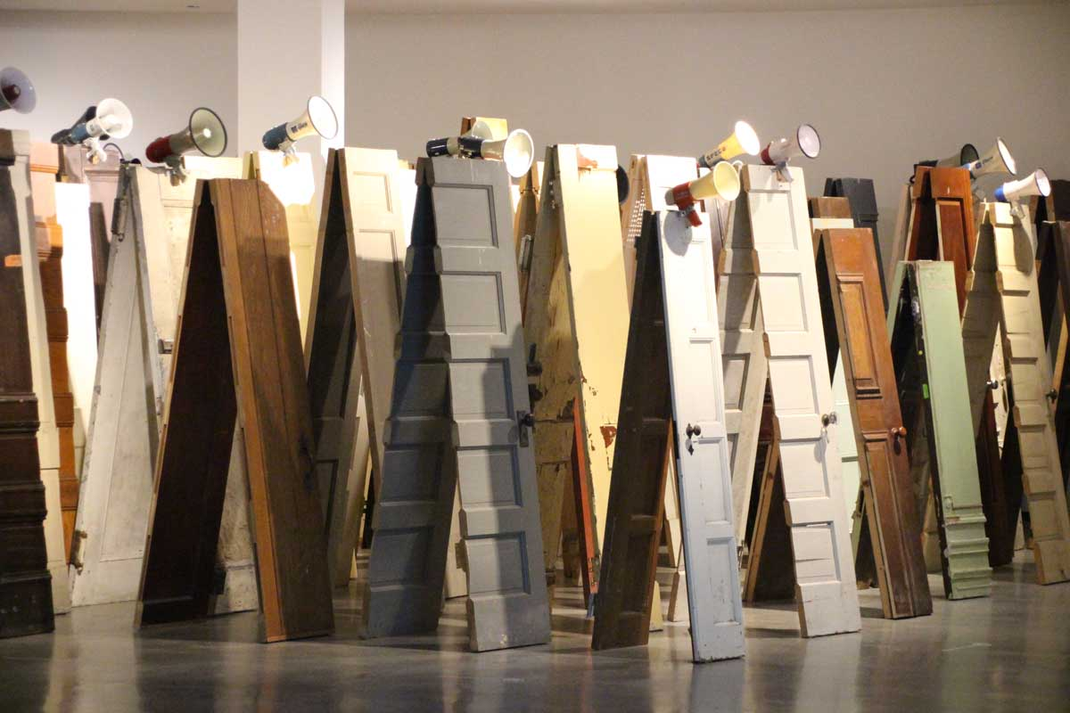 Oeuvre musee contemporain Sydney Australie