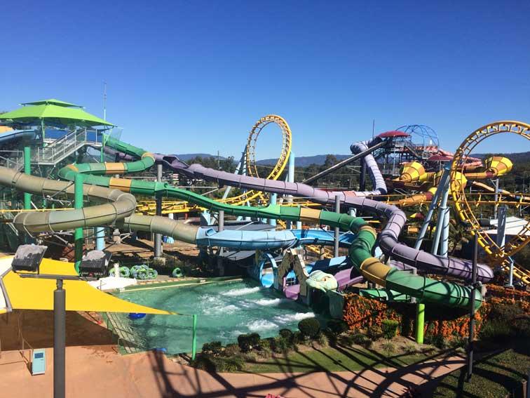 Parc Aquatique Dreamworld Gold Coast Australie