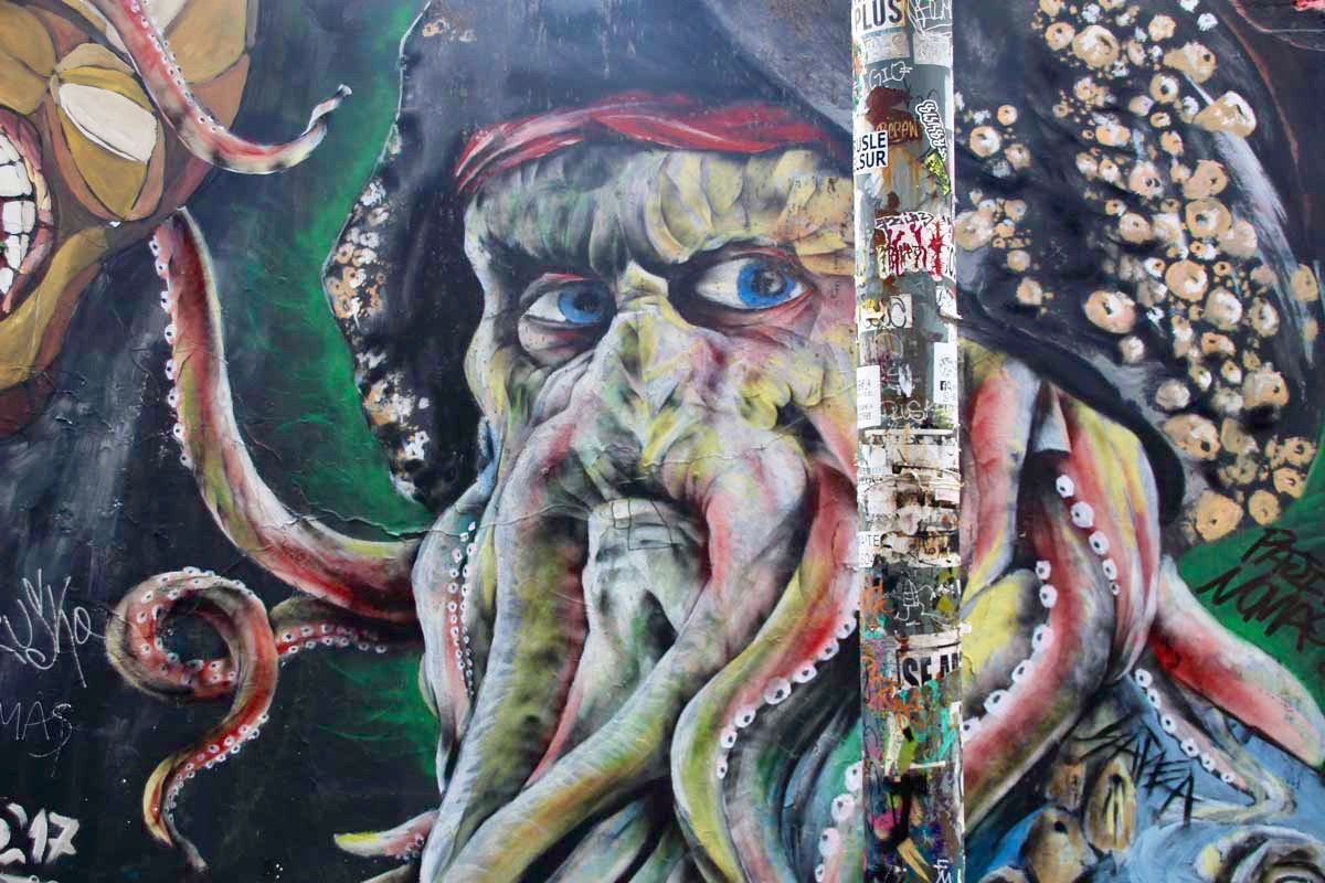 Pirate des caraibes Street Art