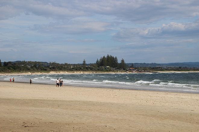 Plage Byron Bay
