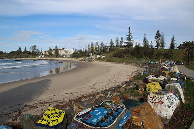 Plage Port Macquarie Australie