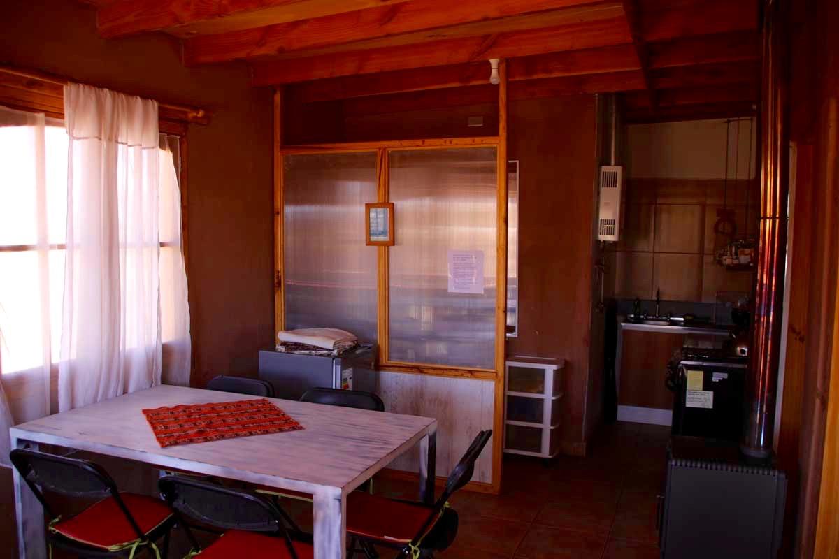 Salle a manger cuisine Logement San Pedro de Atacama Chili
