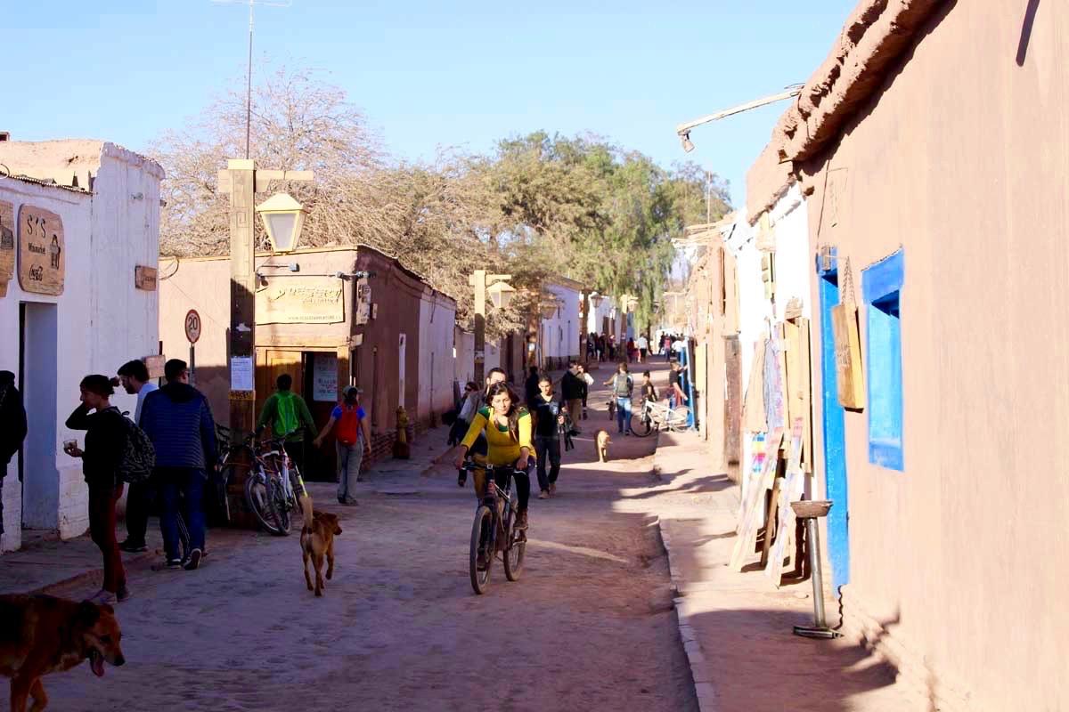 San Pedro de Atacama rue