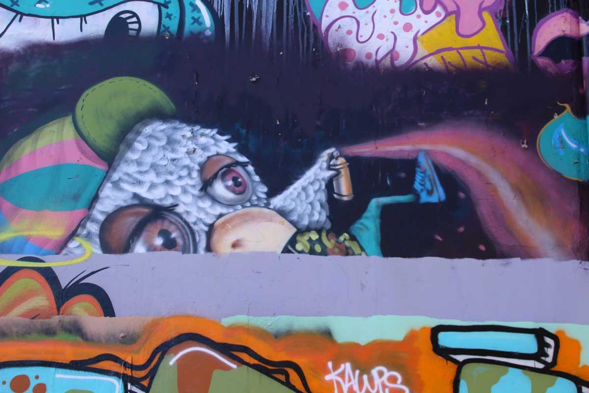 Street Art recouvert Sydney Australie