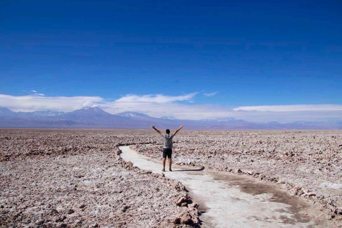 Tom désert Atacama