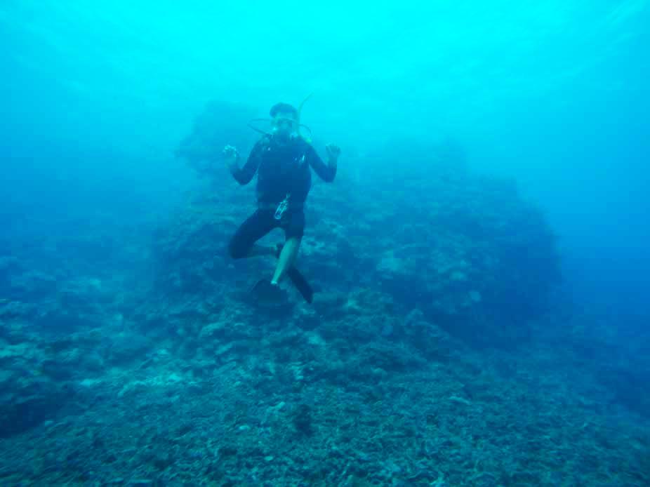 Tom plongee Grande Barrière de Corail Cairns Australie