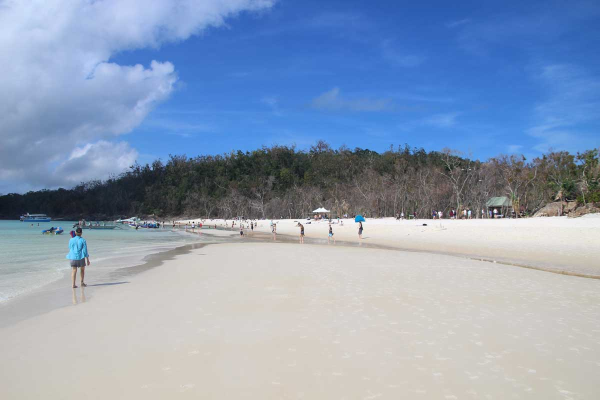 White Haven Beach Whitsundays Australie