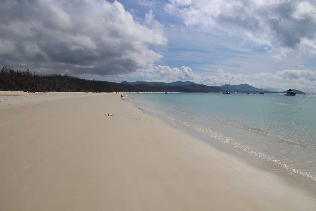 White Haven Beach sable blanc Whitsundays Australie