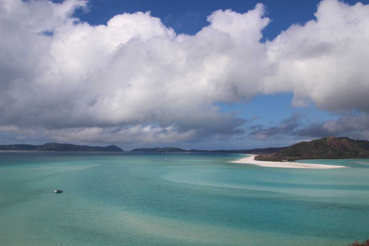 Whitsundays Australie point de vue