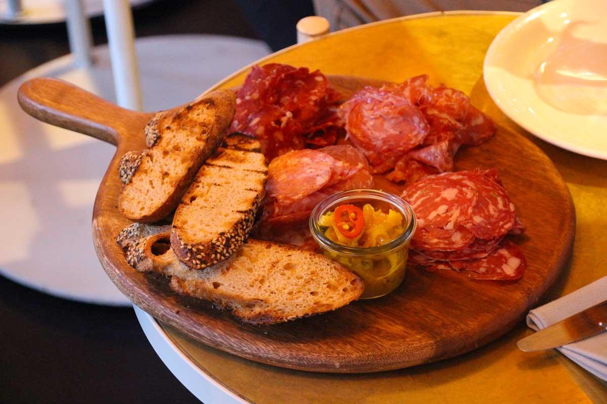 charcuterie Tramsheds Harold Park butcher farmer food tour sydney