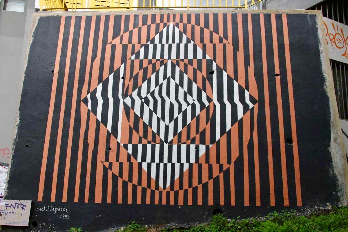 dessin street art Valparaiso Chili