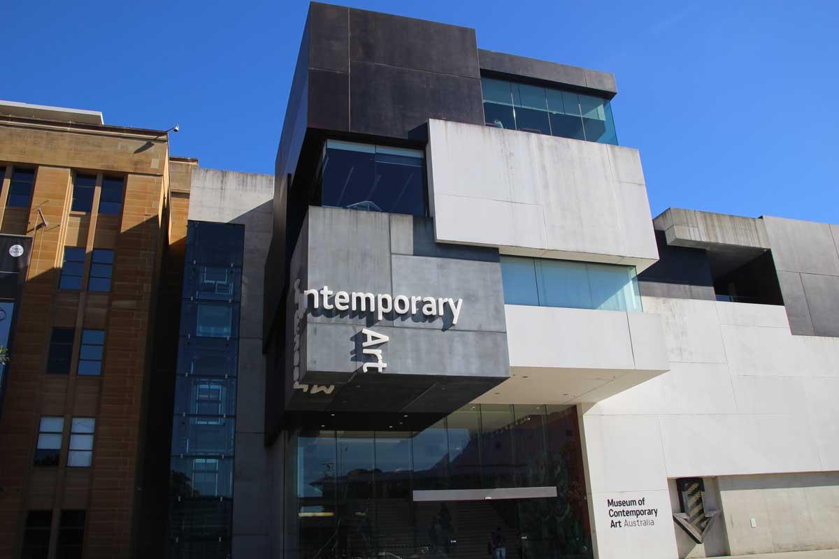 facade musee art contemporain Sydney Australie