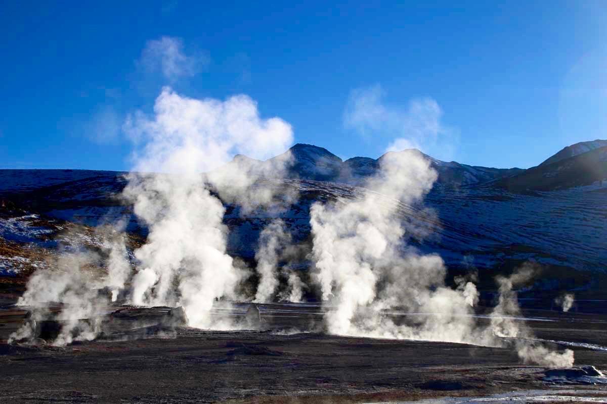 geysers desert atacama chili