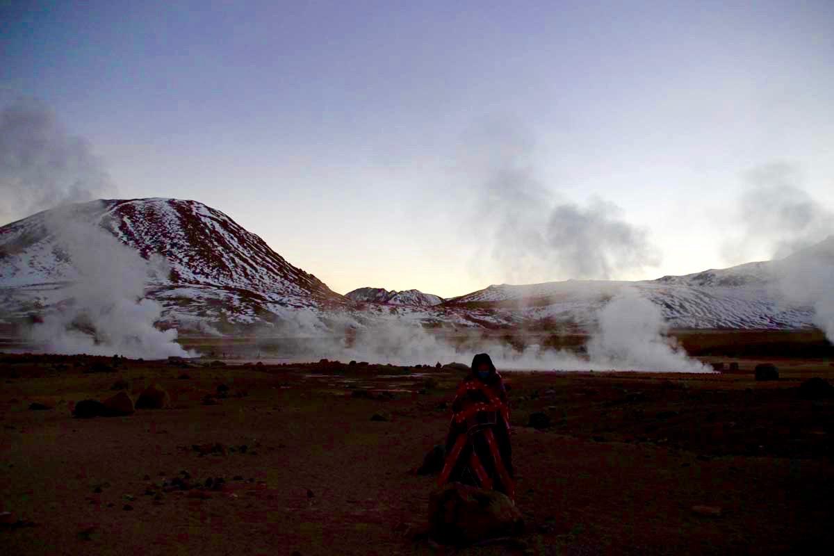 geysers lever de soleil chili