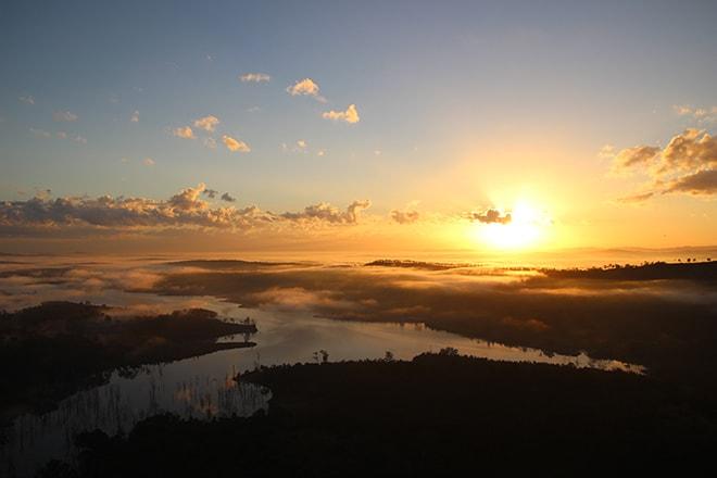 brisbane montgolfiere lever de soleil
