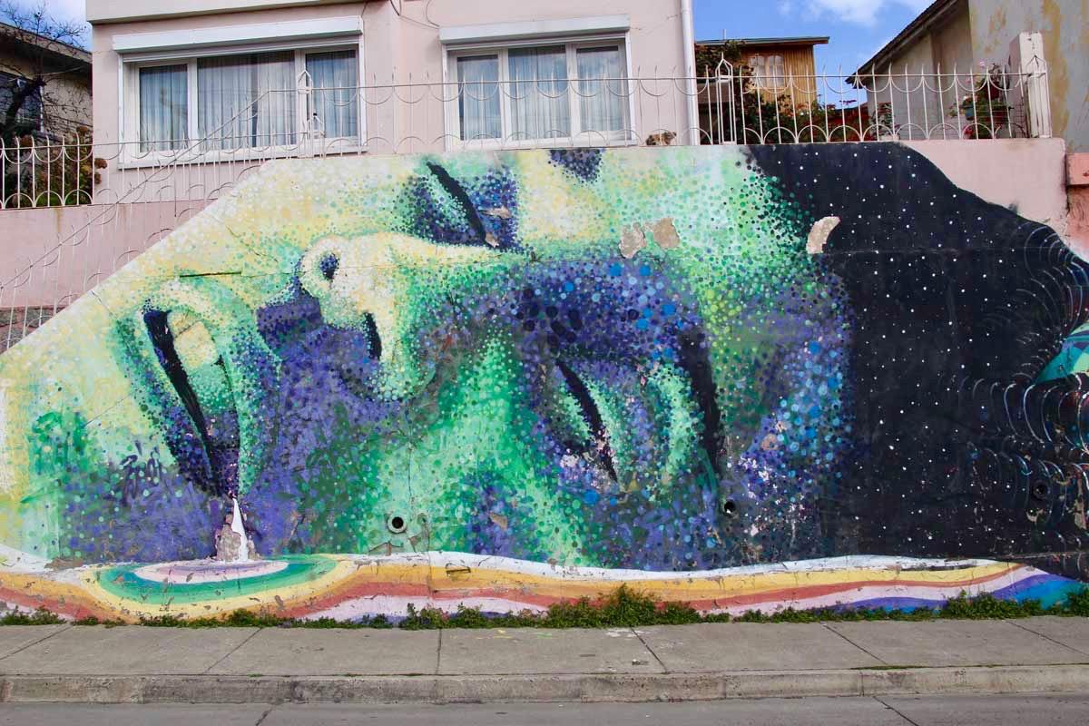 mural Valparaiso Chili