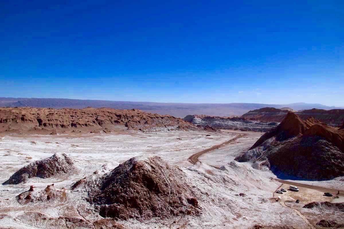 paysage sel valle de la luna chili