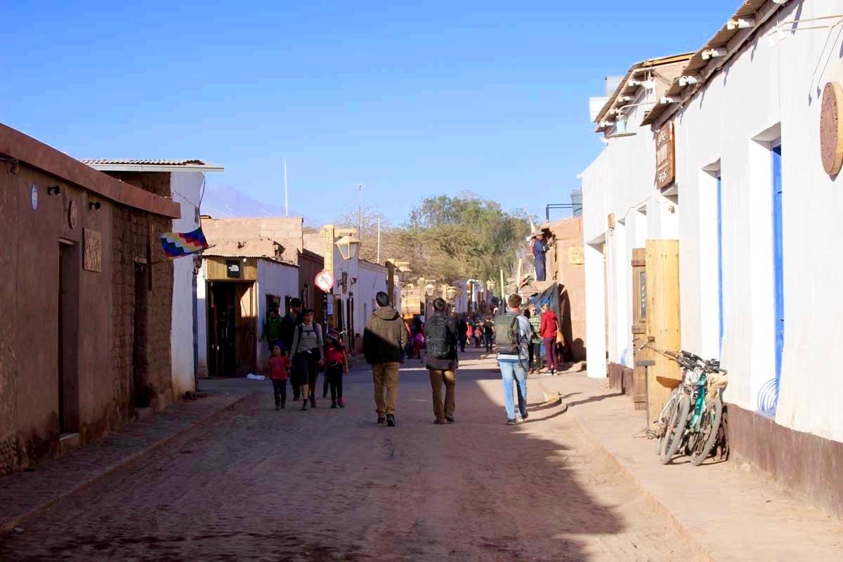 rue San Pedro de Atacama Chili