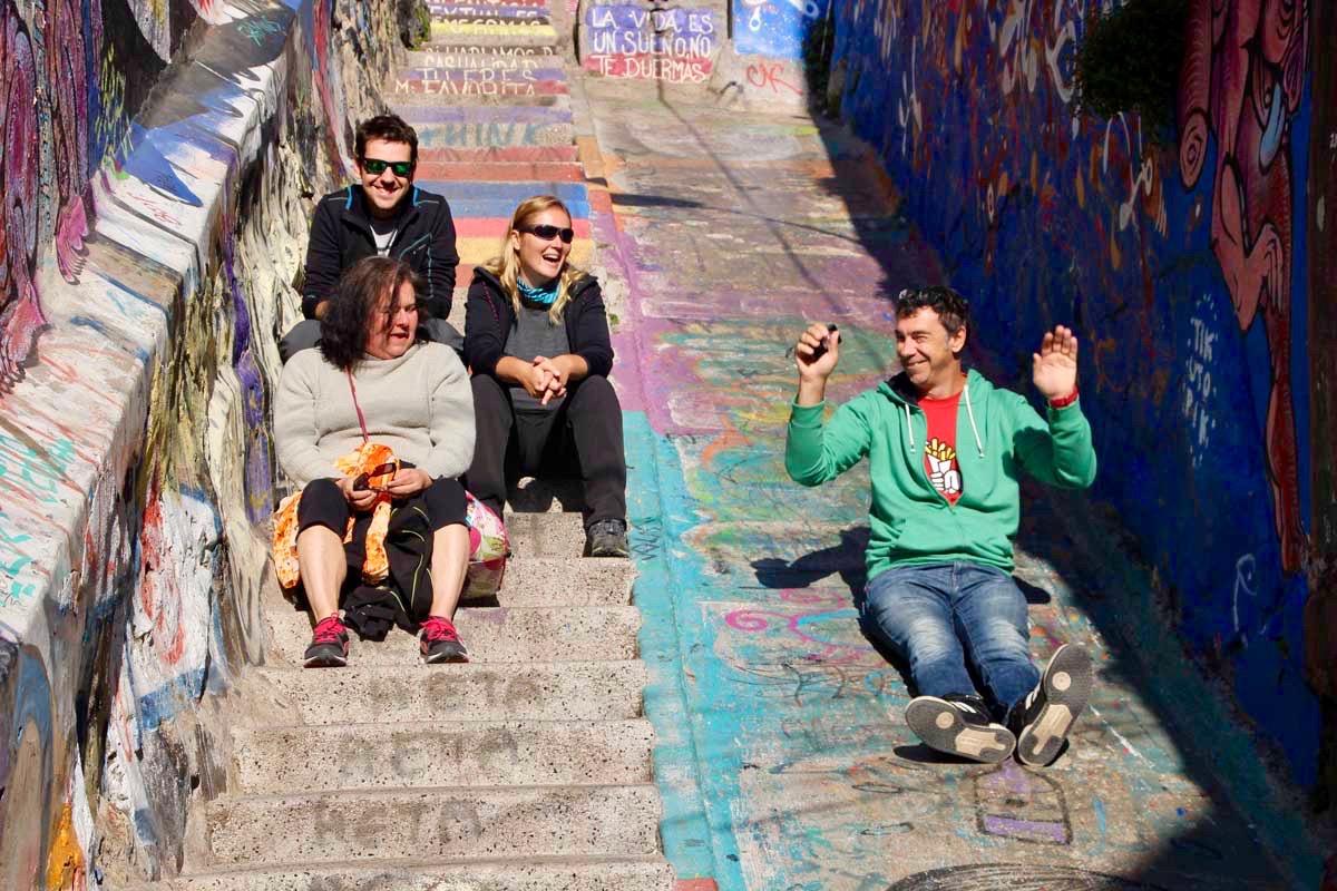 tobogan Valparaiso Chili