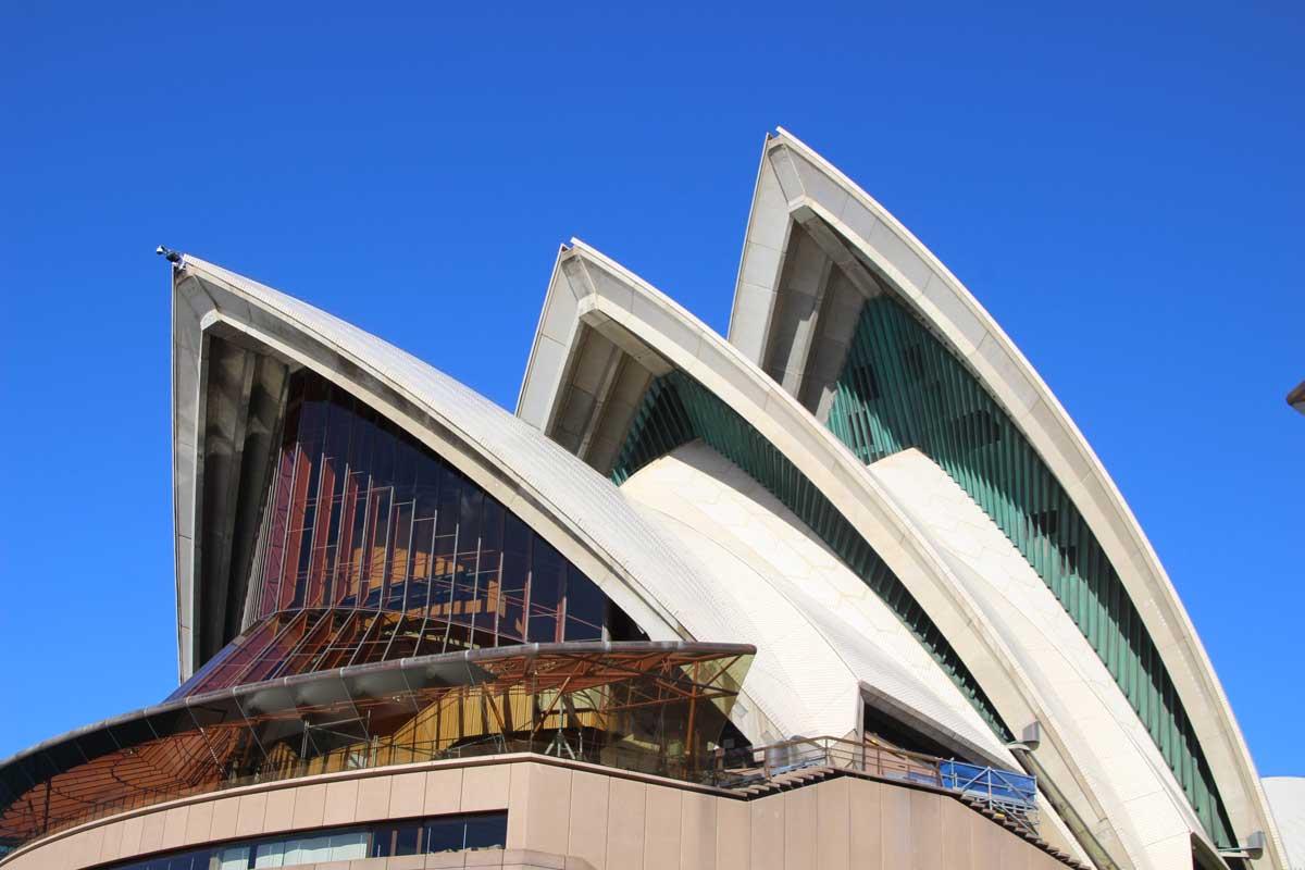 toits opera Sydney Australie