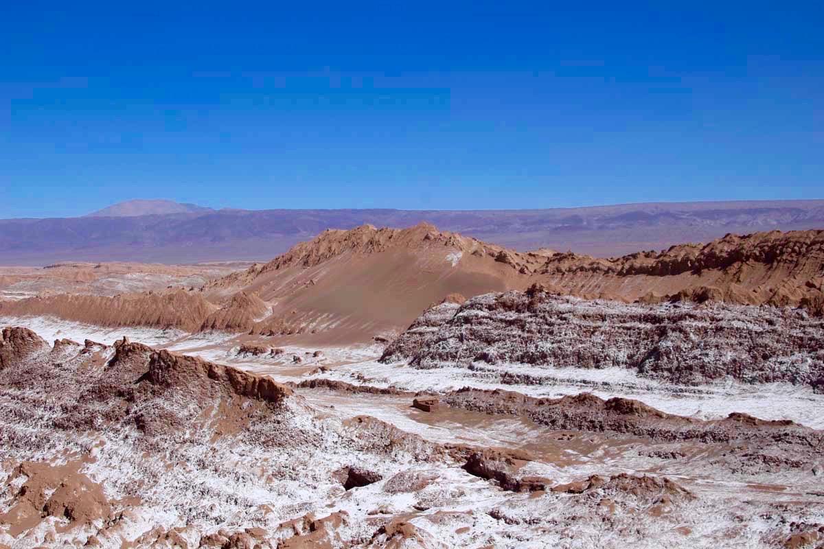 vue valle de la luna desert atacama