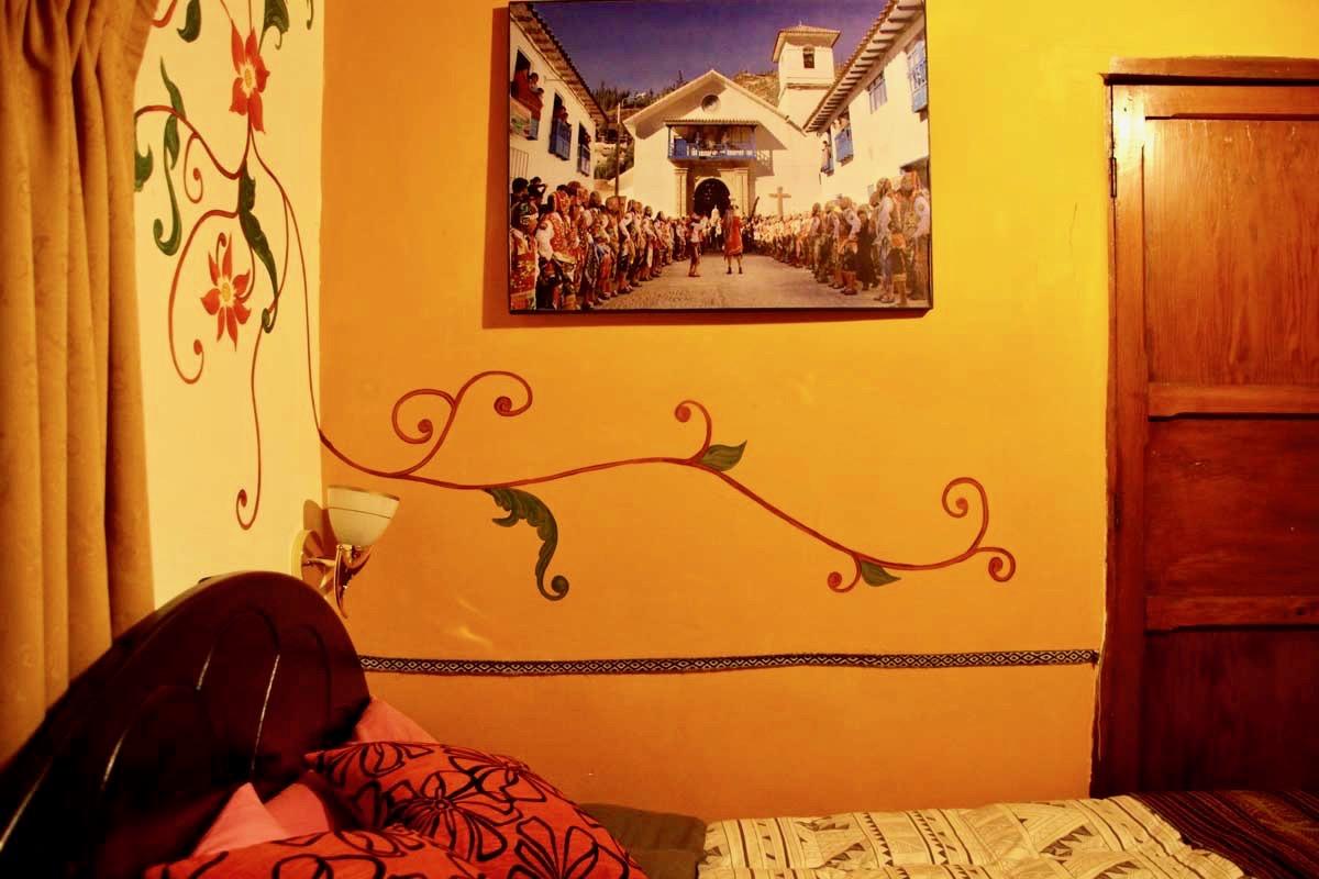 Deco chambre hotel Cusco Perou