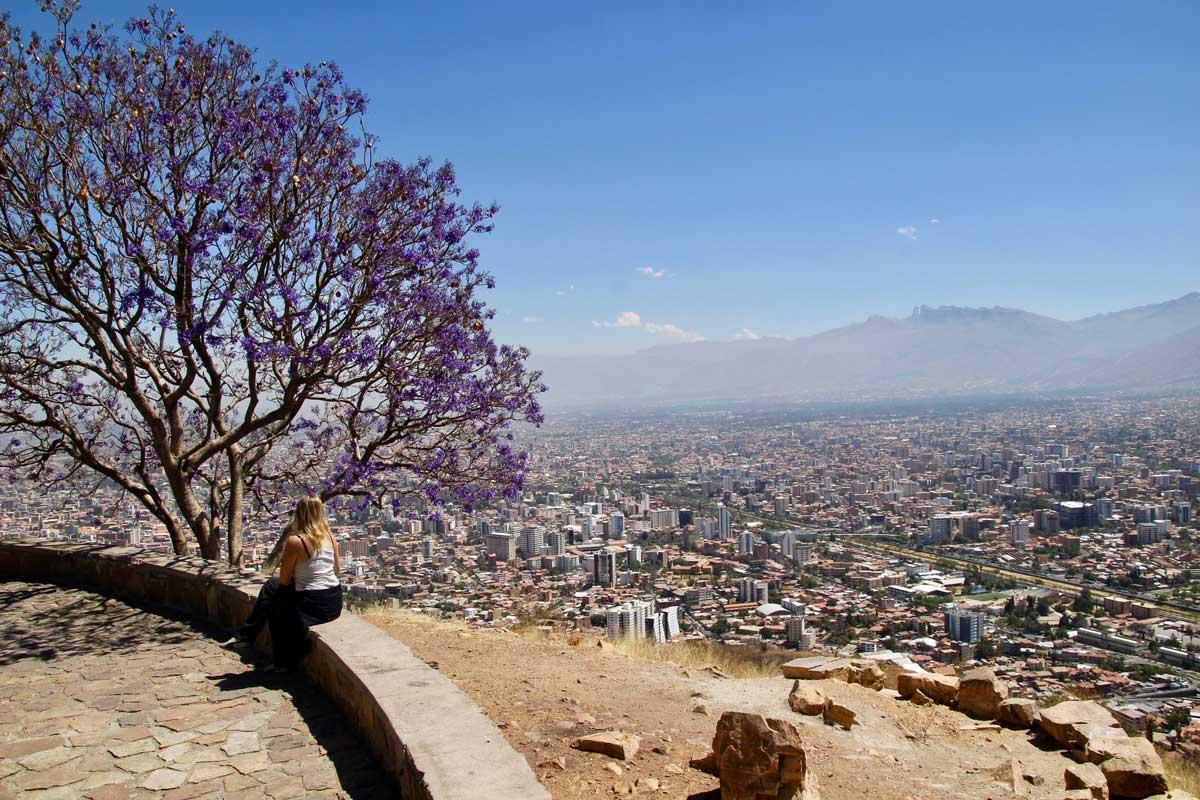 Elo vue Cochabamba Bolivie