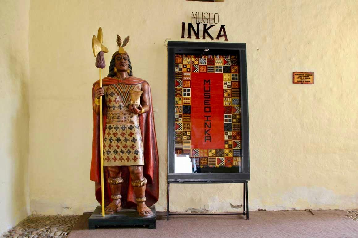 Musee de l inca Cusco Perou
