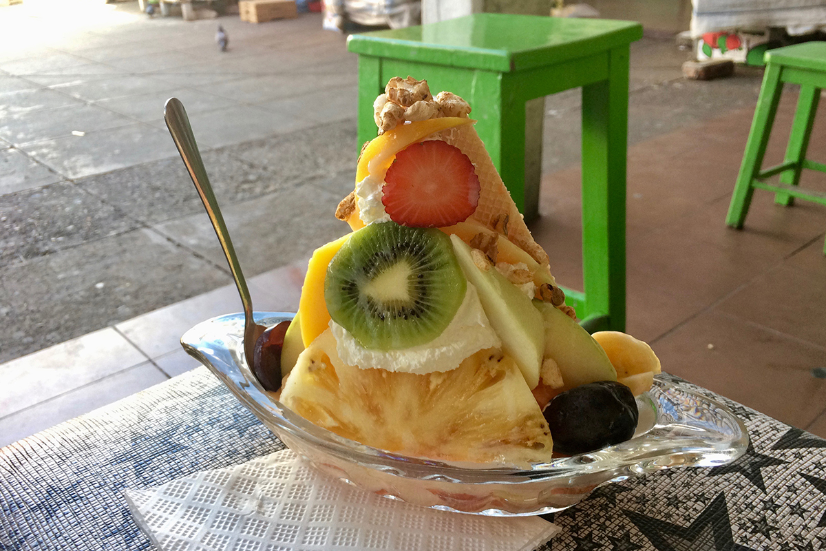 Salade de fruit Sucre Bolivie