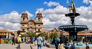 cathedrale et place Cusco Perou