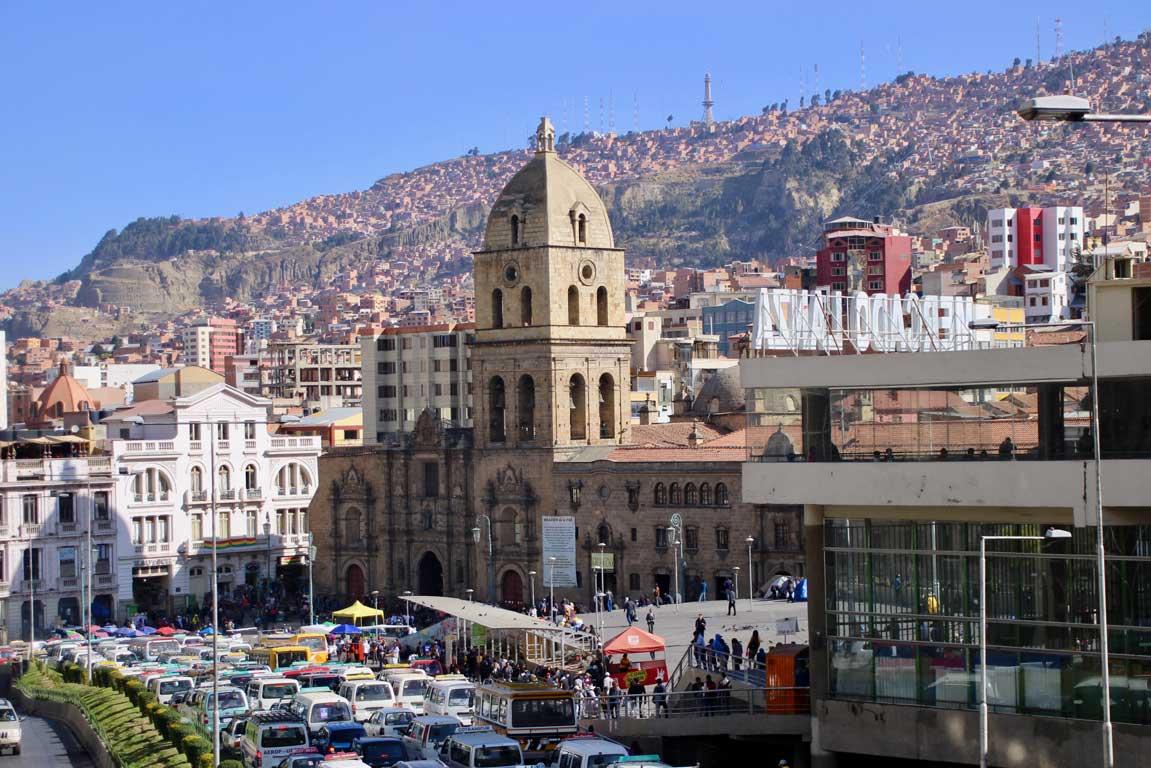 cathedrale la paz bolivie
