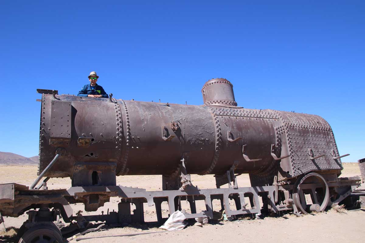 cimetiere trains uyuni bolivie