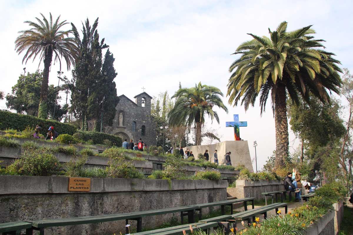 Cerro San Cristobal santiago