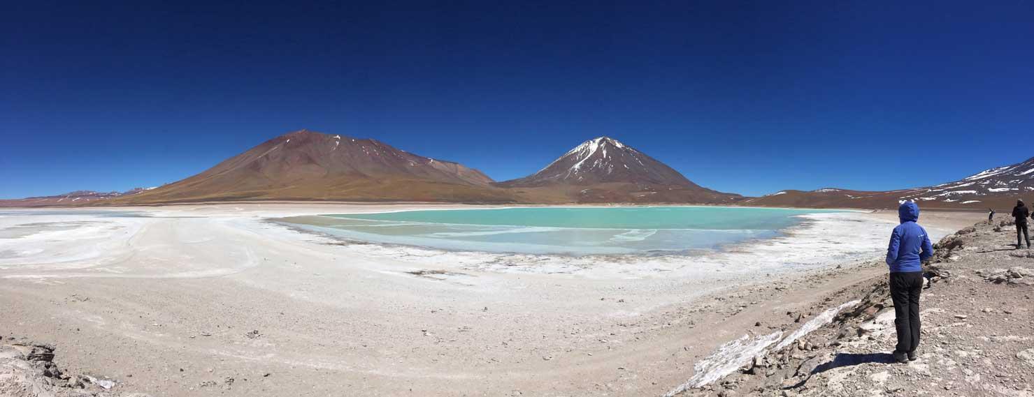 Laguna Verde Sud Lipez Bolivie