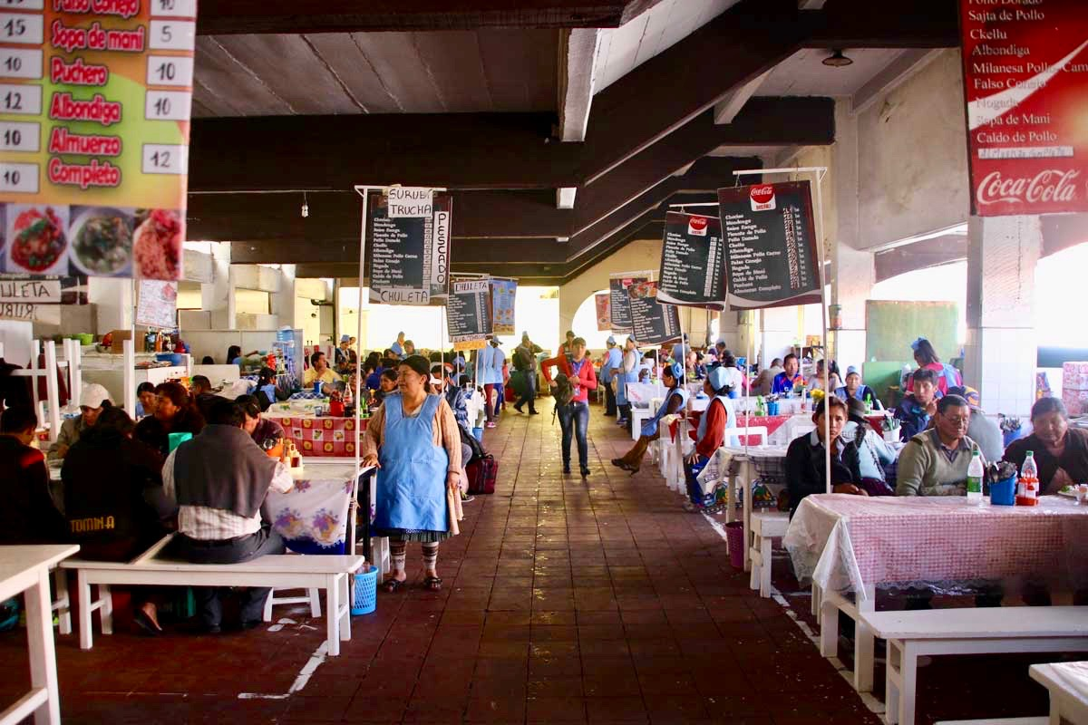 mercado central Sucre Bolivie