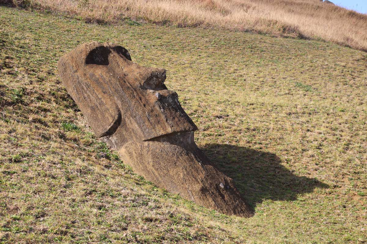 moai rano raraku île de pâques