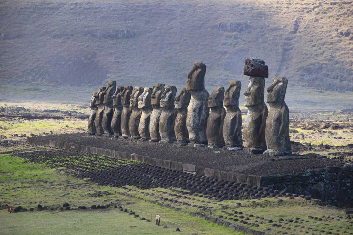 moai tongariki île de pâques
