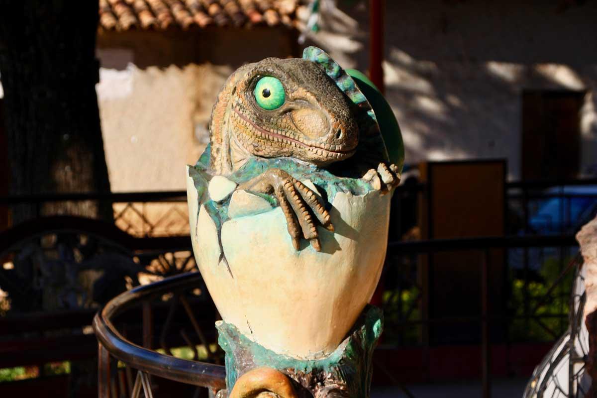 oeuf dinosaure Toro Toro Bolivie