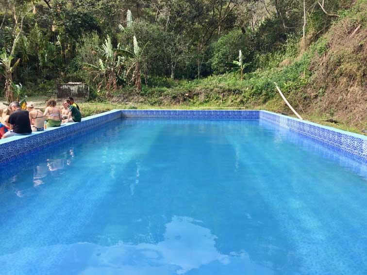 piscine death road la paz bolivie
