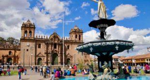 plaza de armas Cusco Perou